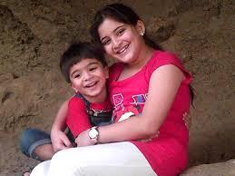 shivansh with sister